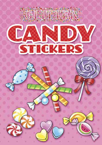 Glitter Candy Stickers