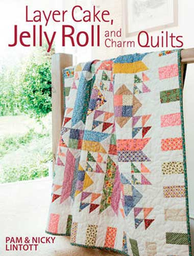 Layer Cake Jelly Roll and Charm Quilts