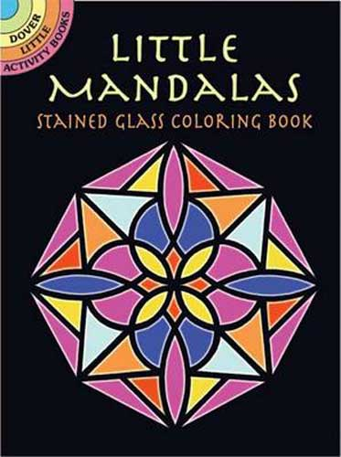 Little Mandalas Stained Glass Coloring Book - CreativeSolutionsGB.com
