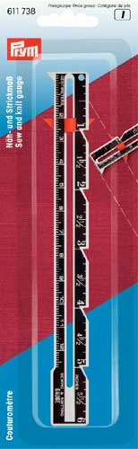 611738 - Prym Sew and Knit Gauge