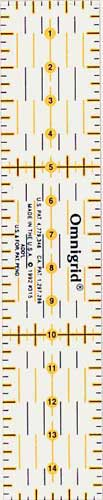 611317 - Universal Ruler with cm Scale 3 x 15 cm