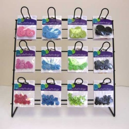 FFDIS-5 Favorite Findings Button Mix Display Stand (Filled)