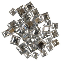 BL55.0001.218 - Clear Square Gems