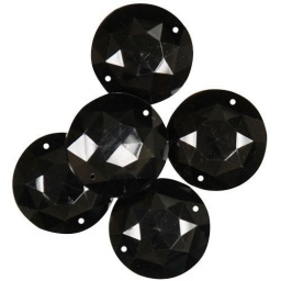 BL55.0001.376 - Large Black Rounds