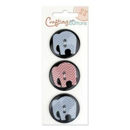 BL47.000.1205 - On Trend Elephant Buttons