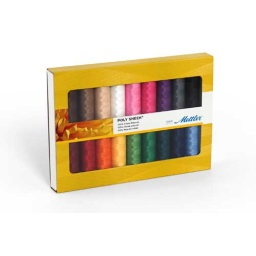 PS18 - Poly Sheen 18 Spools Thread Set