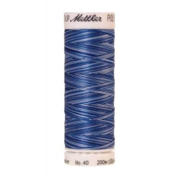 9929 - Nautical Blues  Poly Sheen Multi Thread