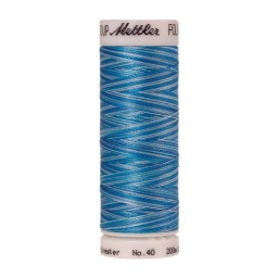 9930 - Aqua Waters  Poly Sheen Multi Thread