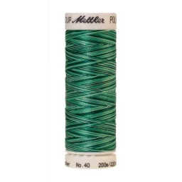 9931 - Minty Leaves  Poly Sheen Multi Thread