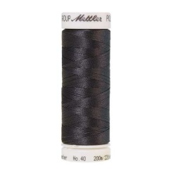 0132 - Dark Pewter Poly Sheen Thread