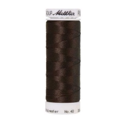 0576 - Very Dark Brown Poly Sheen Thread