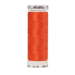 1300 - Tangerine Poly Sheen Thread