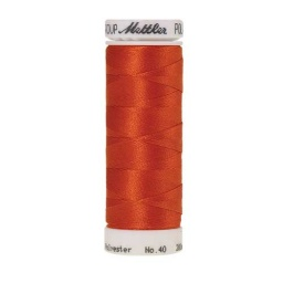 1321 - Dark Orange Poly Sheen Thread