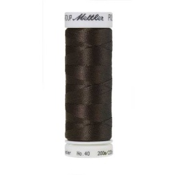 1375 - Dark Charcoal Poly Sheen Thread