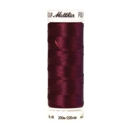 2222 - Burgundy Poly Sheen Thread