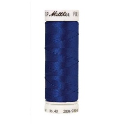 3335 - Flag Blue Poly Sheen Thread