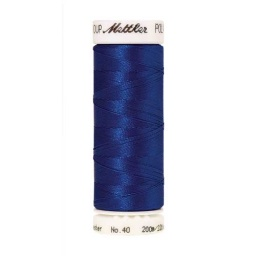 3522 - Blue Poly Sheen Thread