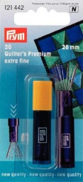 121442 - Prym Quilting Needles Extra Fine - 26 x 0.53mm