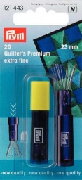121443 - Prym Quilting Needles Extra Fine - 23 x 0.53mm