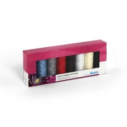 SFC8 - Silk Finish Cotton 8 Spools Thread Set