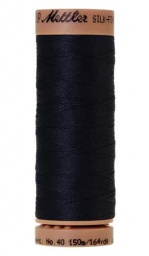 0827 - Dark Blue Silk Finish Cotton 40 Thread