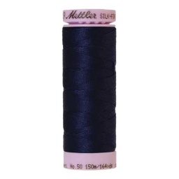 0016 - Dark Indigo Silk Finish Cotton 50 Thread