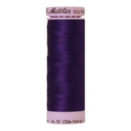 0046 - Deep Purple Silk Finish Cotton 50 Thread
