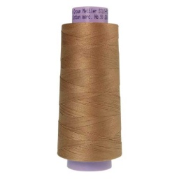 0285 - Caramel Cream Silk Finish Cotton 50 Thread - Large Spool