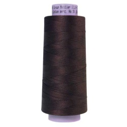 1382 - Black Peppercorn Silk Finish Cotton 50 Thread - Large Spool