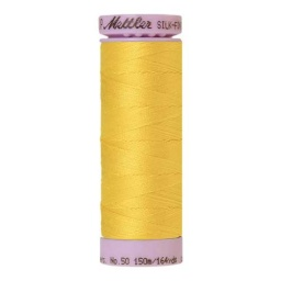 2263 - Vibrant Yellow Silk Finish Cotton 50 Thread