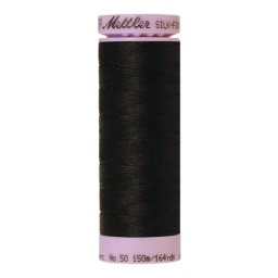 4000 - Black Silk Finish Cotton 50 Thread