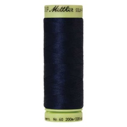 0825 - Navy Silk Finish Cotton 60 Thread