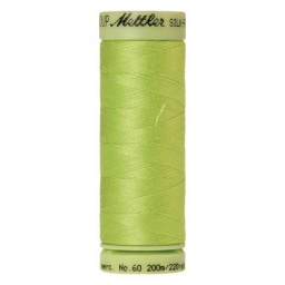 1528 - Bright Lime Green Silk Finish Cotton 60 Thread