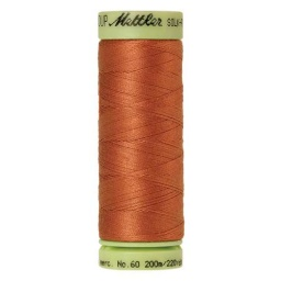 2103 - Amber Brown Silk Finish Cotton 60 Thread