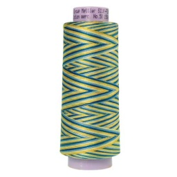 9829 - China Blue  Silk Finish Cotton Multi 50 Thread - Large Spool