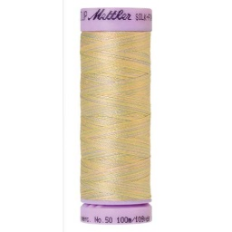 9844 - Palest Pastels  Silk Finish Cotton Multi 50 Thread