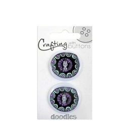 BL47.000.1405 - Small Ethnic Doodle Buttons