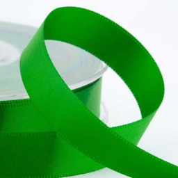 Emerald Double Face Satin Ribbon