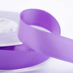Lilac Double Face Satin Ribbon