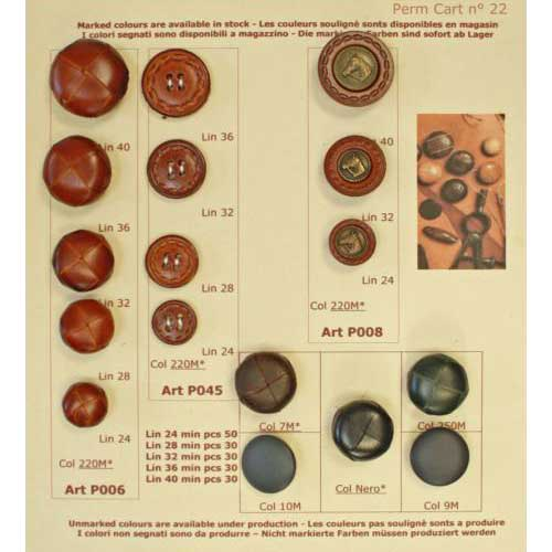 Bonfanti Buttons Permanent Collection - Card 022