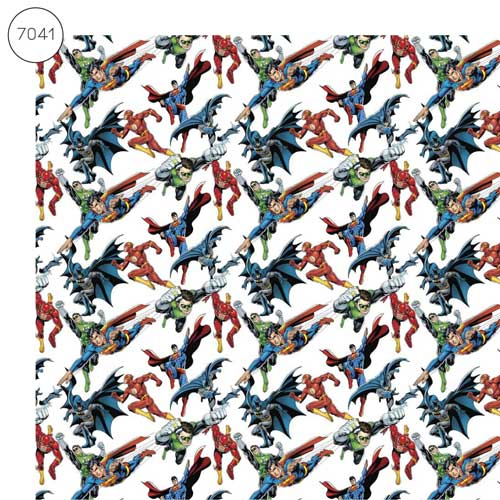 MC7041 - Justice League Fabric