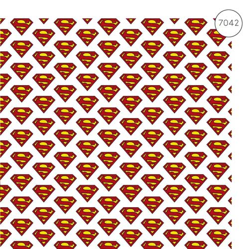 MC7042 - Justice League - Superman Fabric