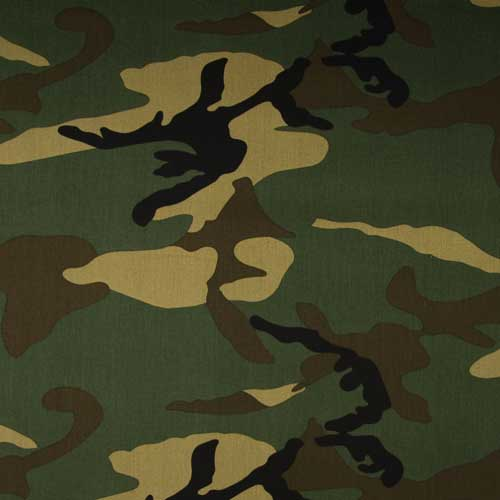RS0212 - Cotton 3/1 Twill - Camouflage