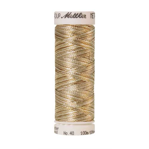 9924 - Gold and Silver Metallic Thread