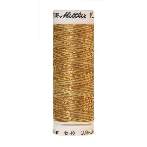 9933 - Amber Mix  Poly Sheen Multi Thread