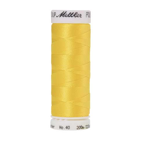 0310 - Yellow Poly Sheen Thread