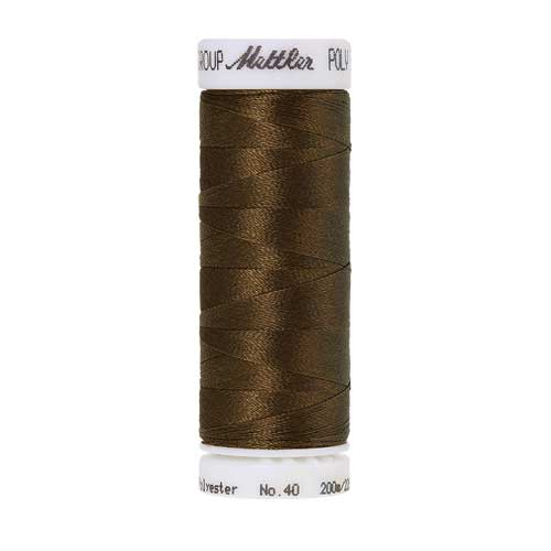 0747 - Golden Brown Poly Sheen Thread