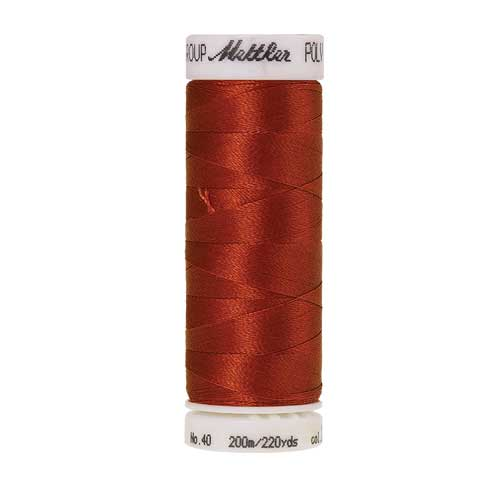 1312 - Burnt Orange Poly Sheen Thread