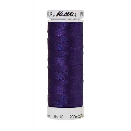 3110 - Dark Ink Poly Sheen Thread