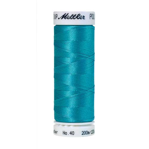 4114 - Danish Teal Poly Sheen Thread